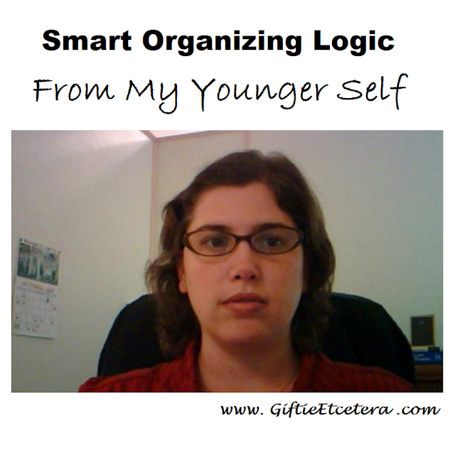 lady with glasses; professional organizer