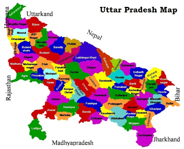uttar-pradesh-map-district-maps
