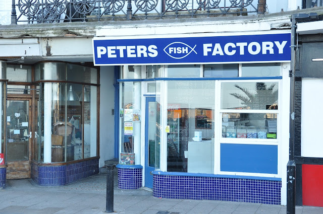 Margate Peters Factory fish and chips