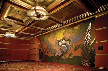 Art deco mural - Deco tableau mural ...