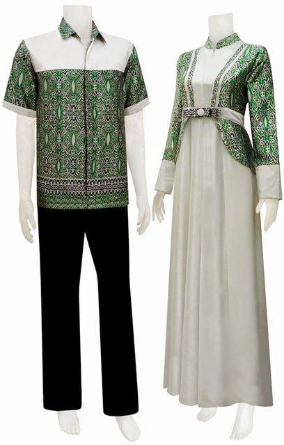 Berbagai Jenis Dan Model Baju Batik Couple Terkini 2017