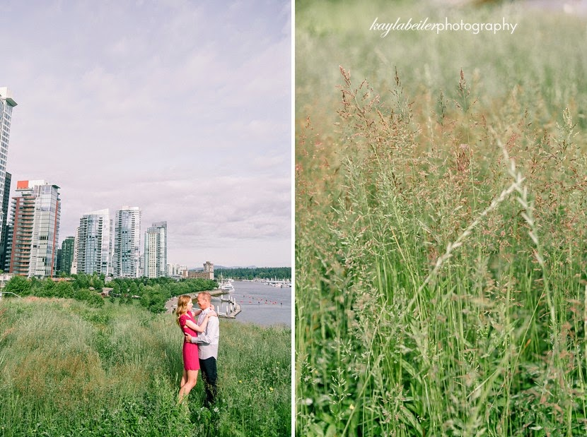 coal harbour engagement photo