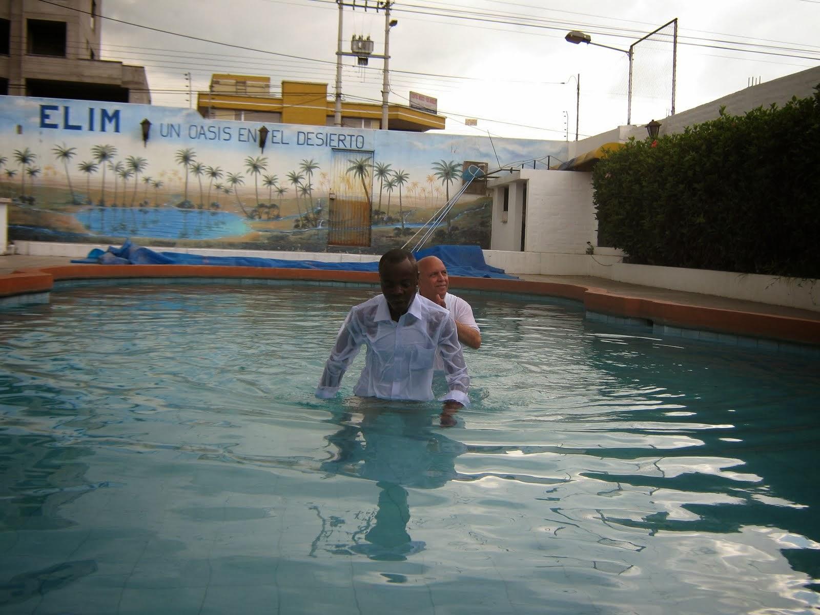 Primer bautismo