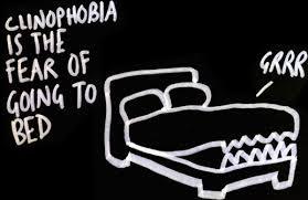 Clinophobia