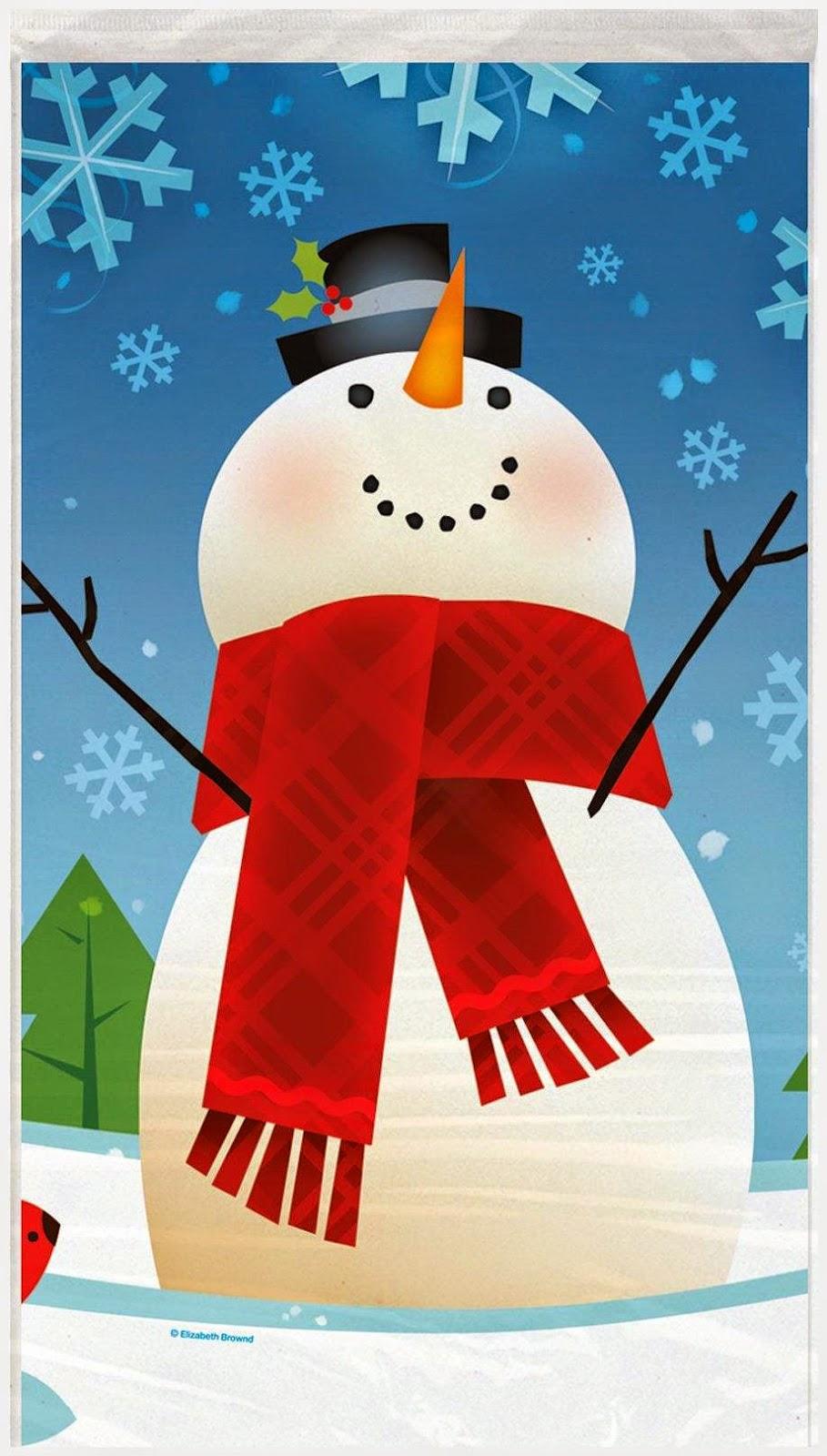 JoyFull Snowman Tablecover Christmas