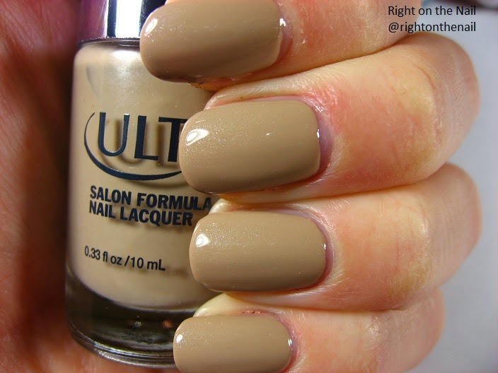 Right on the Nail: Ulta Nail Polish Swatch and Review: On Taupe of ...