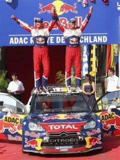 RALLY-Ogier, Loeb y Soro conformaron el podio en Alemania