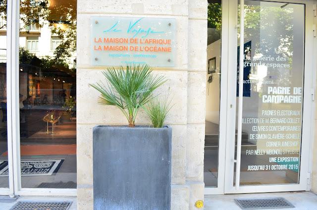 Pagne de campagne Maison de l'Afrique Paris