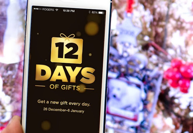 Apple's 12 Days of Gifts has just entered its ninth day with an offer to download Kings Of Leon's iTunes Festival EP, Tom Odell, Caro Emerald Live, and the album of Stromae.