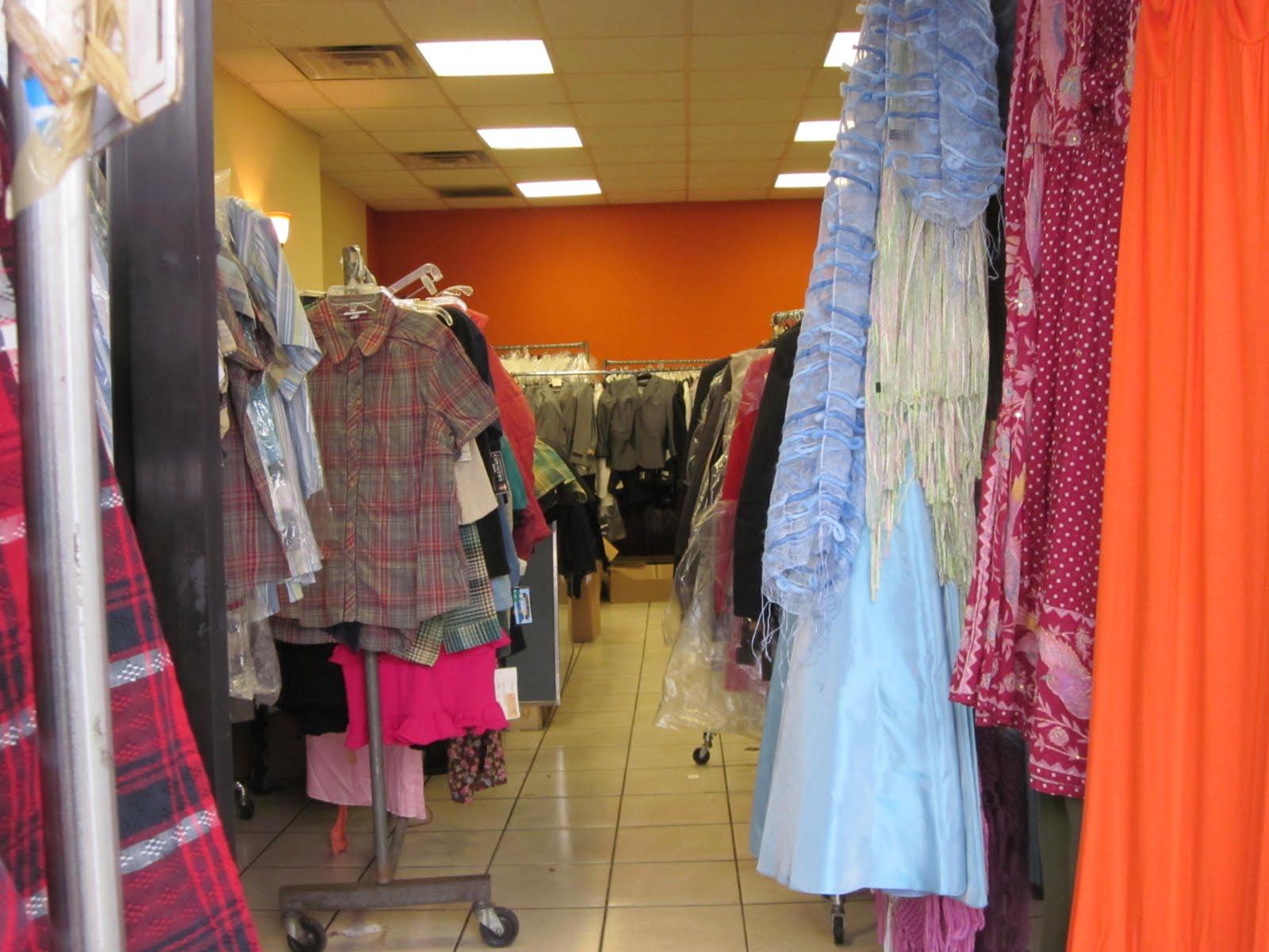 Church clothing store