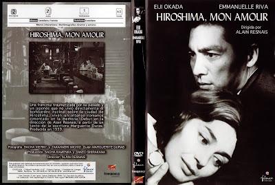 1959 | Hiroshima, mon amour | Caratula, Dvd Cover, widescreen