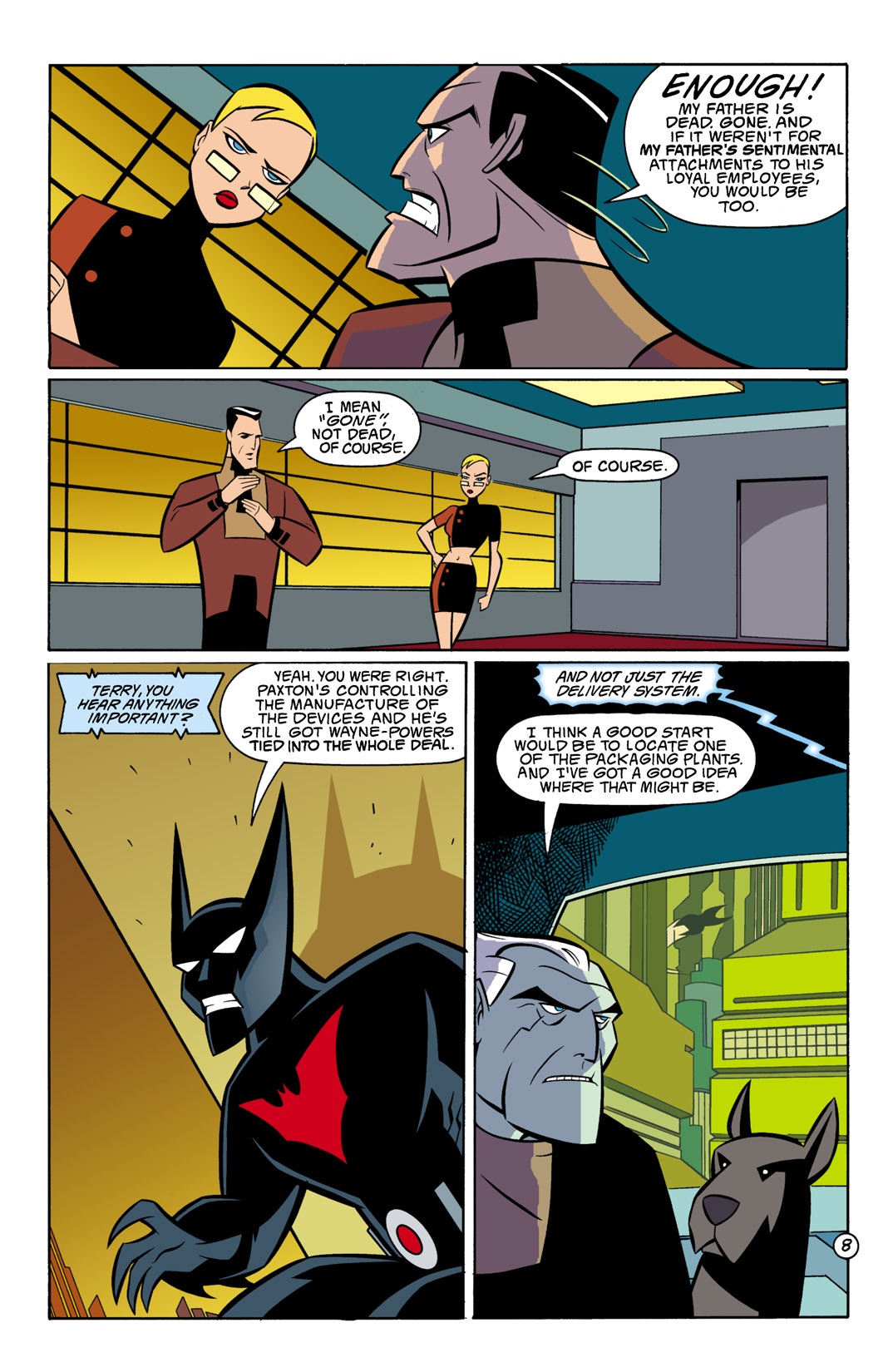 Batman Beyond [II] Issue #8 #8 - English 9