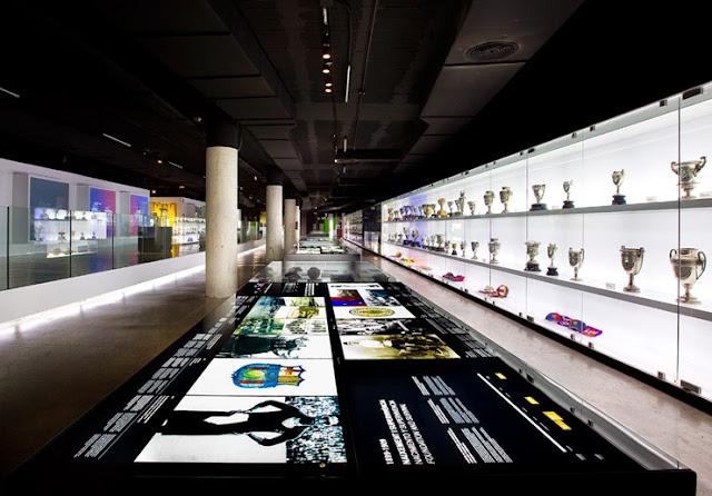 Museus de Barcelona - Museu de Futebol do Barcelona FC