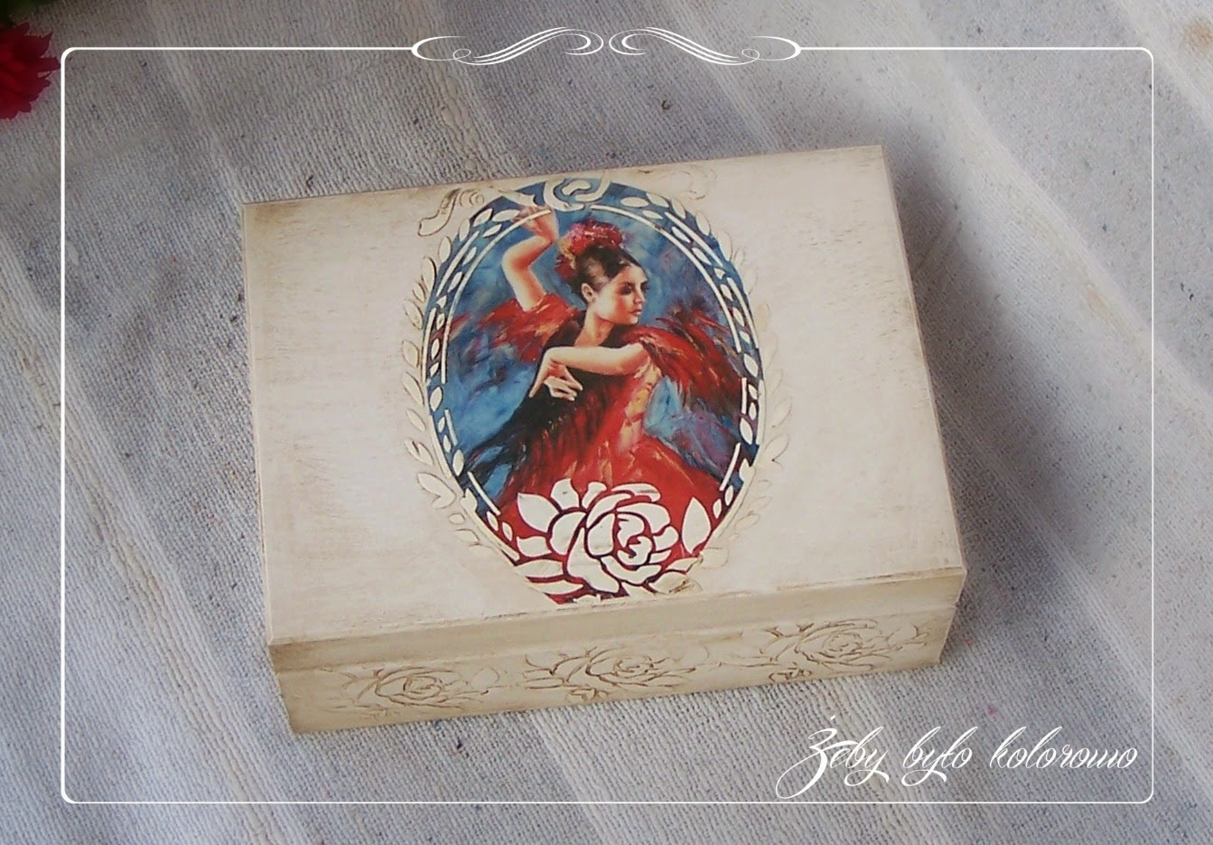 decoupage flamenco