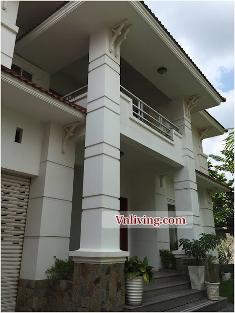 Villas An Phu for lease 400 sqm 4 bedrooms fully furniture in Dist 2