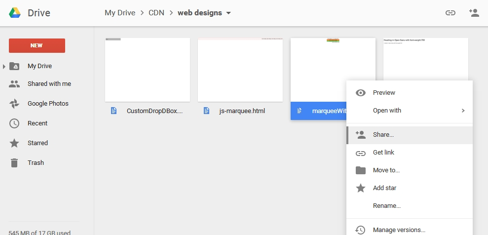 simple web designs  hosting html pages with google drive
