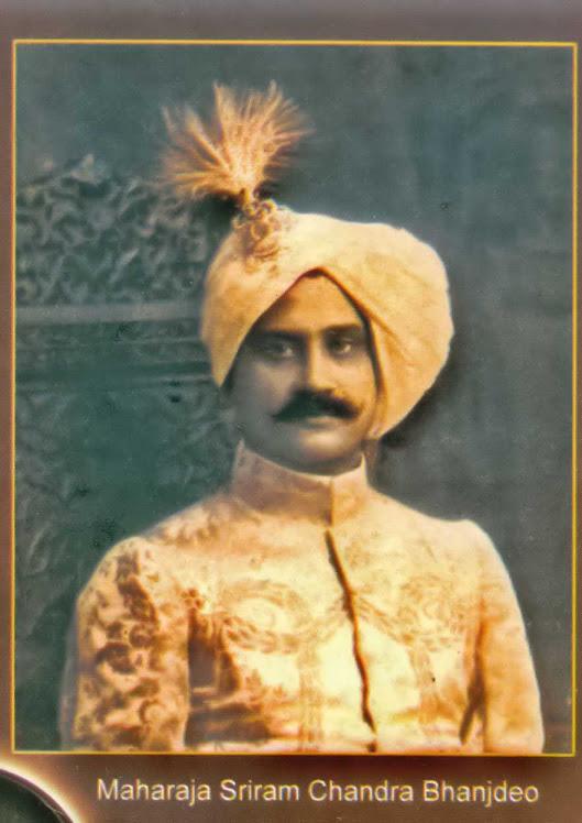 Maharaja Sriram Chandra Bhanj deo
