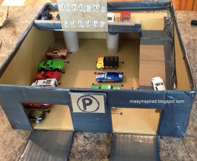 Missy Inspired Matchbox Car Garage