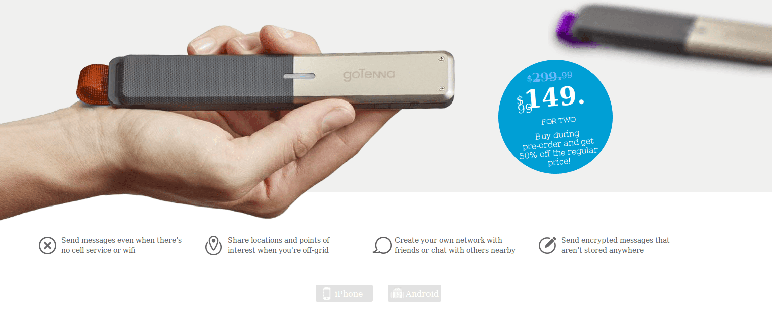 buy gotenna device