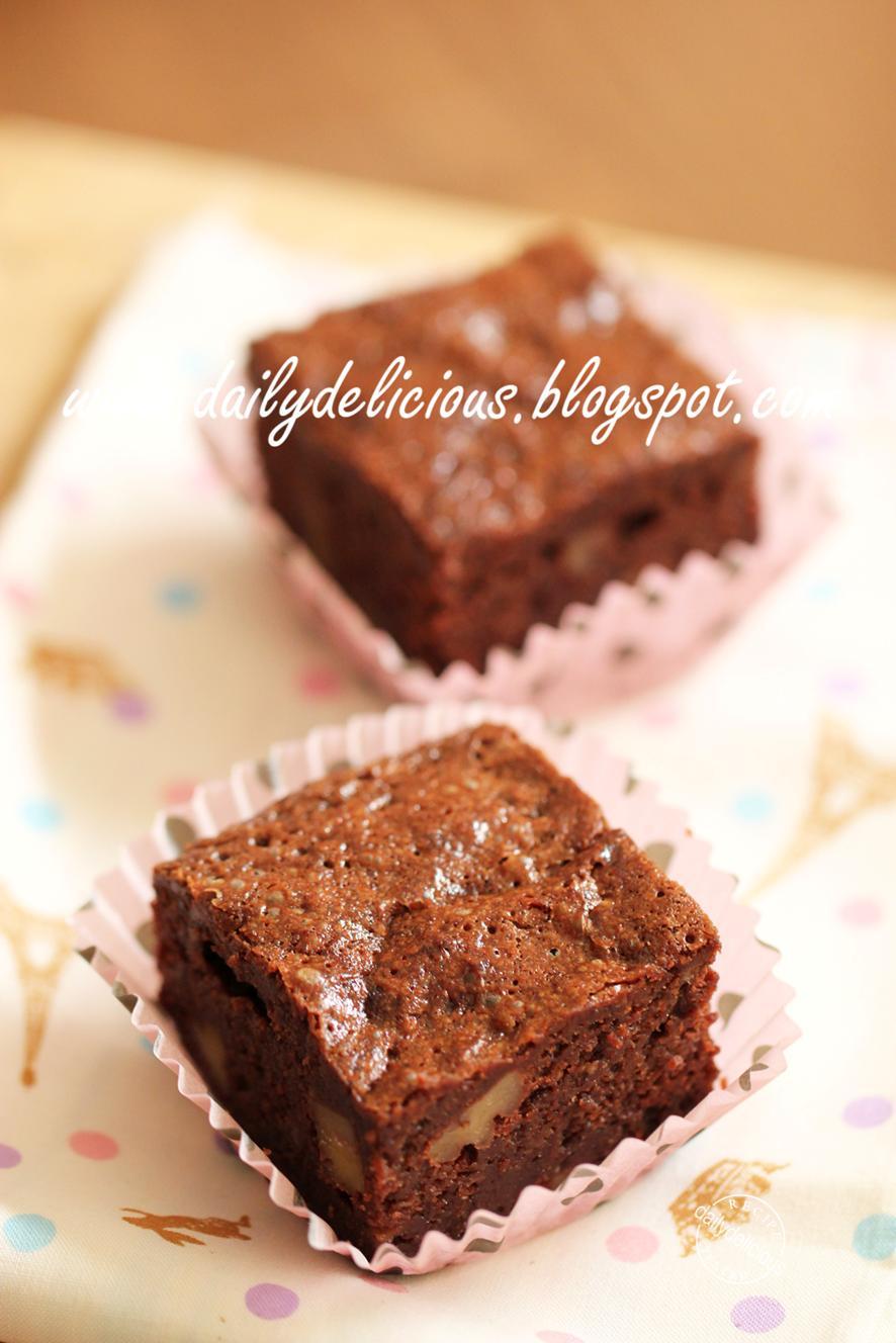 Banana Chocolate Brownies Thermomix