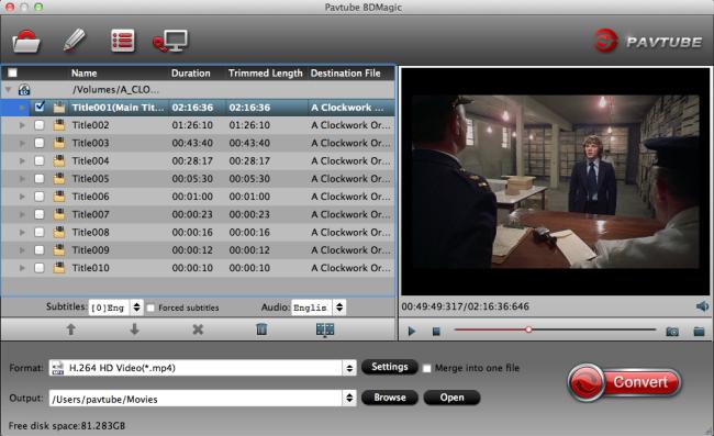 DVDFab Blu-ray Ripper (3D Plus) for Mac Yosemite