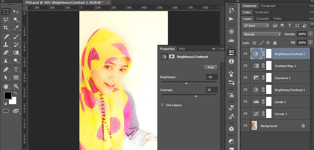 Cara Membuat Efek Instagram Dengan Photoshop