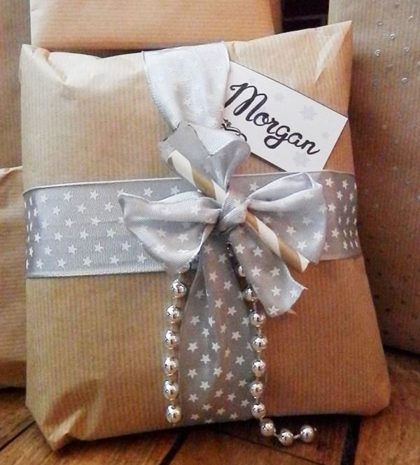 Paquet cadeau Noël