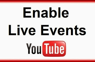 How To Enable Live Events On YouTube