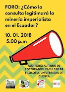 FORO: ¿Cómo la consulta legitimará la megaminería imperialista en Ecuador?