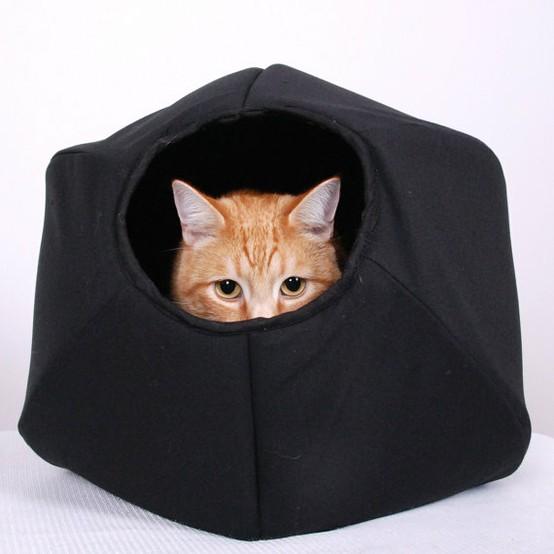Gatos id ias geniais de camas para os bichanos leticia for Cama para gatos