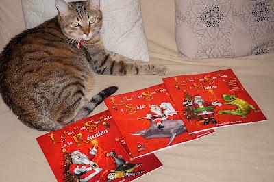 Les albums du Père Noël, à Sète, à Nîmes, à la Réunion