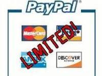 Cara Mengatasi Paypal Limit