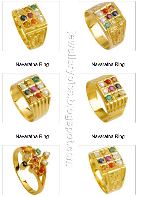 Nava Ratna Rings Models By Josalukkas Latest Jewellery