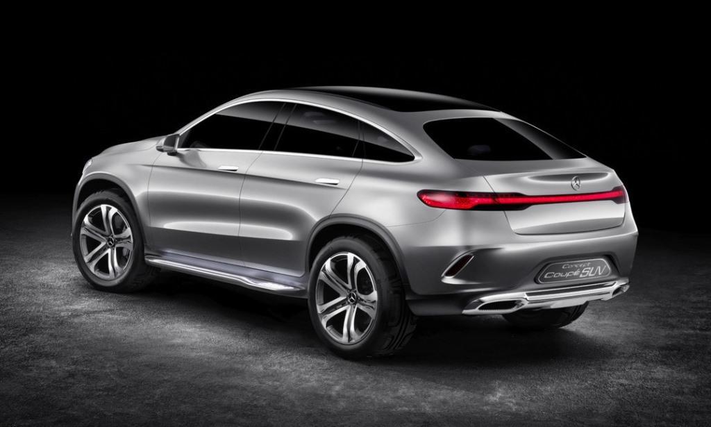 El bmw x6 ya no corre solo mercedes benz concept coup for Mercedes benz concept coupe suv interior