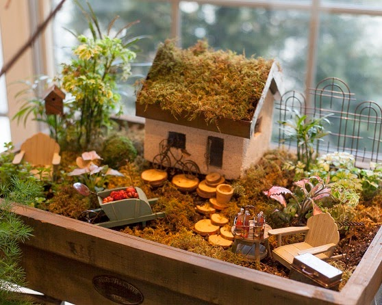 stop by and check out the gardens created by our in house team and then build your own at home following these 5 simple steps how to assemble a fairy - How To Build A Fairy Garden
