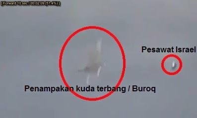 Video Heboh Penampakan Malaikat Menyerang Pesawat Israel