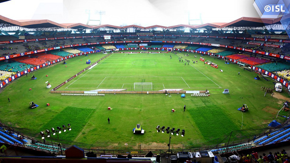 Jawaharlal Nehru Stadium, Delhi Indian Super League 2015 Delhi Dynamos vs Chennaiyin FC