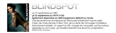 Blindspot sur MYTF1VOD