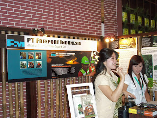 stand freeport in indogreen forestry expo