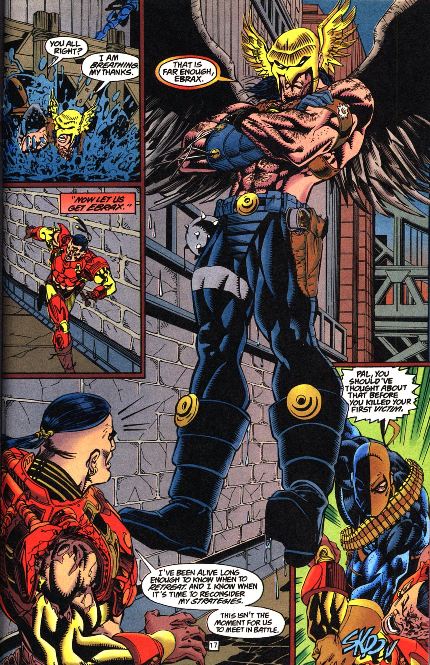 Deathstroke (1991) Issue #52 #57 - English 18