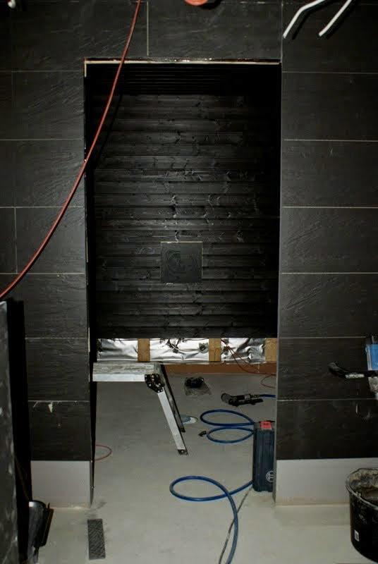 saunatupa, saunarakennus, musta sauna, musta kylpyhuone