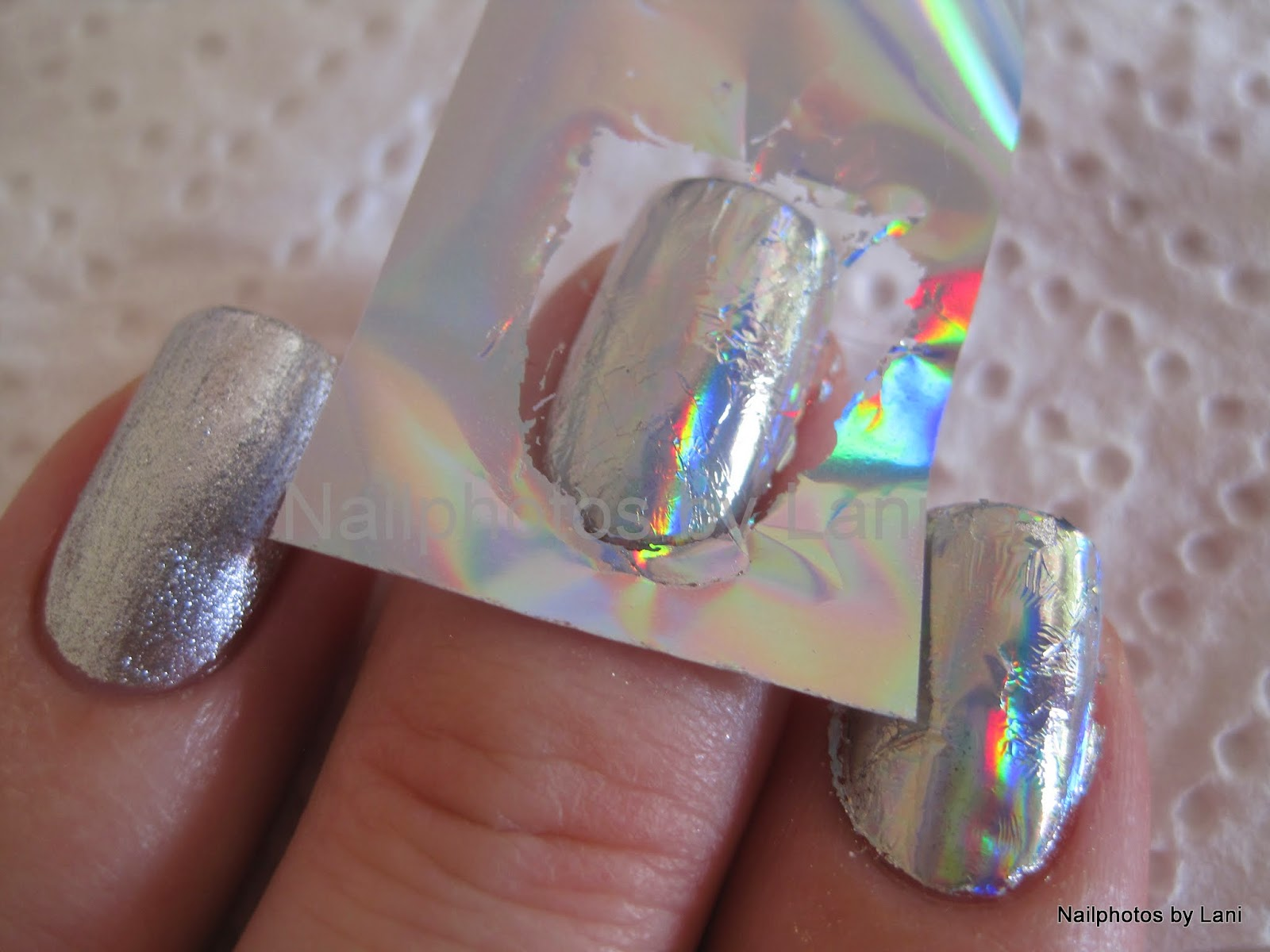 Nailphotos by Lani: Holographic Nail Foil from KKCenterHk, and how ...