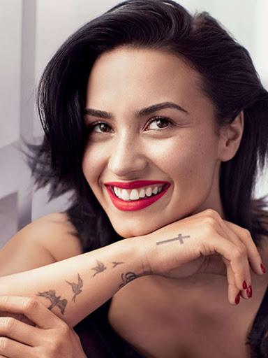 Demi Lovato Allure magazine February 2016 photo