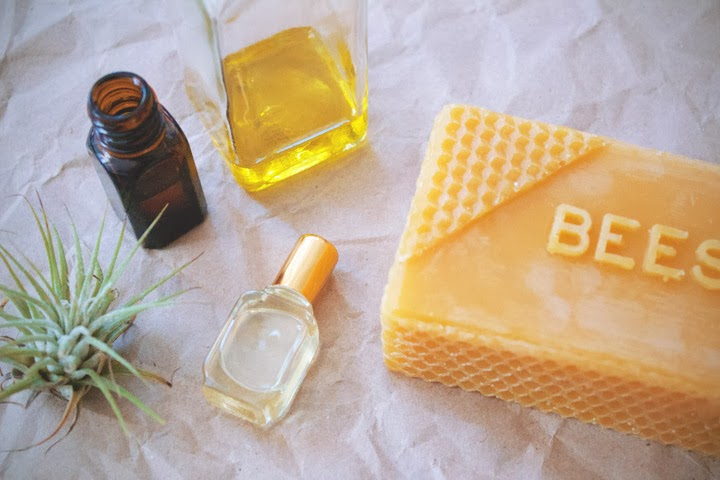 how to make solid perfume with beeswax