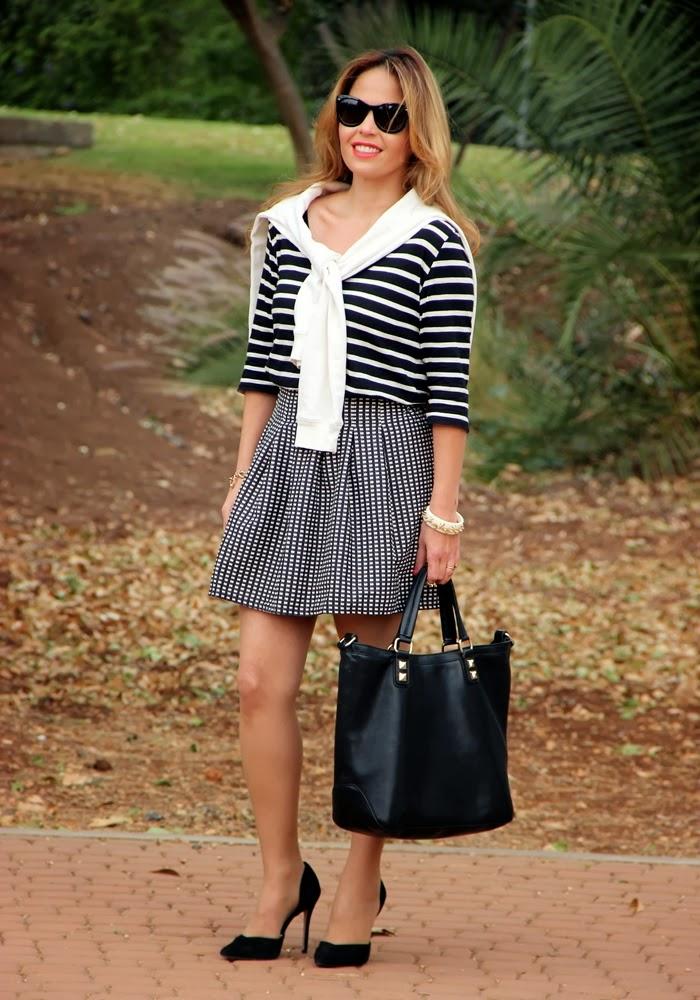 בלוג אופנה Vered'Style פאן בשחור ולבן