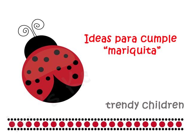 FIESTA CUMPLEAÑOS MARIQUITA | trendy children blog de moda infantil