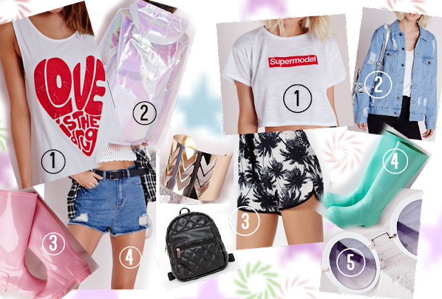 Festival outfit ideas - missguided