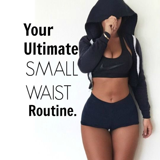 Fit Friday Your Ultimate Small Waist Routine