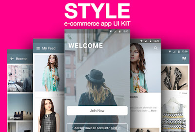 Free E-commerce App UI Kit
