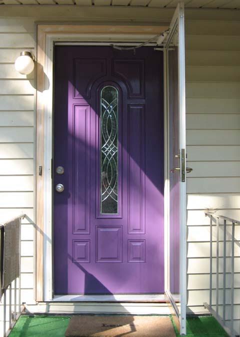 purple front door design 10 ไอเดียแต่งบ้านด้วยประตูบ้านสำหรับคนชอบสีม่วง